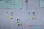 Tranh dự thi của Phương AnhB,lớp 4H,Trường Tiểu học Dịch VọngA(MS:362)