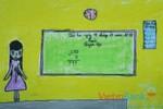 Tranh dự thi của Khánh Linh,lớp 4H,Trường Tiểu học Dịch Vọng A(MS:363)