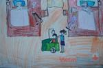 Tranh dự thi của Quỳnh Ngọc, lớp 5A, Tiểu học Xã Đàn (MS:488)