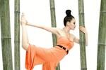 Ảnh nữ hoàng yoga gợi cảm nhất Trung Quốc