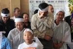 Hình ảnh xúc động khi đưa nhà văn Nguyễn Quang Sáng về nơi an nghỉ