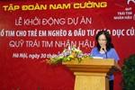 Báo Giáo dục Việt Nam đồng hành cùng Quỹ Trái tim nhân hậu