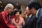 Bộ trưởng Hoàng Tuấn Anh tiếp kiến Tổng thống và Thủ tướng Singapore