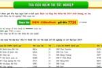 Điểm thi rao bán trên mạng, Website của Bộ Giáo dục khó vào