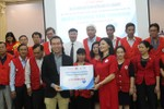 FrieslandCampina Việt Nam hỗ trợ dinh dưỡng cho trẻ em vùng bão lũ