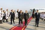 Tổng Bí thư, Chủ tịch nước Lào Bounnhang Vorachith bắt đầu chuyến thăm Việt Nam