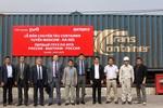 Chuyến tàu đầu tiên chở container tuyến Moscow – Hà Nội