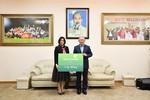 Vietcombank trao số tiền 1 tỷ đồng cho đội tuyển bóng đá U23 Việt Nam
