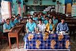 Ngày trở về của cựu học sinh 12C10 Trường trung học phổ thông Huỳnh Thúc Kháng