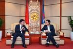 Tổng Giám đốc Tập đoàn Dầu khí Việt Nam tiếp Ngân hàng Hợp tác Quốc tế Nhật Bản