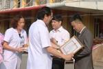 Thầy giáo vượt 200 km hiến máu cứu người được Bộ Y tế trao tặng bằng khen