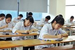 Ngày mai, học sinh Hà Tĩnh thi thử Trung học phổ thông Quốc gia