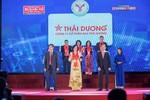 """Sao Thái Dương tự hào nhận giải thưởng """"Thương hiệu mạnh Việt Nam 2017 – 2018"""""""