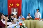 Đoàn kiểm tra thi đua, khen thưởng của Bộ Giáo dục làm việc tại Quảng Ngãi