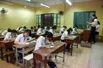 Các trường trung học phổ thông ở Bình Thuận kết thúc ôn tập cho học sinh lớp 12