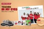"""Mừng Ngày nhà giáo Việt Nam cùng """"Teacher in my eyes"""" của Apax English"""