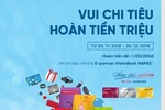 Vui chi tiêu - Hoàn tiền triệu với thẻ E-Partner VietinBank NAPAS