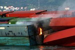 Diễn biến mới nhất về vụ tai nạn chìm tàu container trên biển Vũng Tàu
