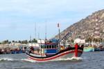 Ninh Thuận: Đã liên lạc được với tàu cá bị mất tích trên biển
