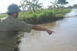 Cùng bạn tắm sông, một học sinh lớp 8 bị nước cuốn tử vong