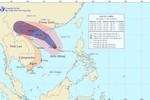 Bão số 5 hướng thẳng về phía bờ biển tỉnh Quảng Ninh – Nam Định