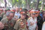 Quyết tử quân Trung đoànThủ đô năm xưa đến viếng Đại tướng