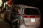 Vụ tàu hỏa đâm xe taxi 7 chỗ: Khởi tố tài xế taxi