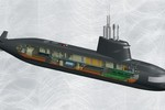Nga - Italy khôi phục dự án chế tạo tàu ngầm S-1000 để bán cho châu Á