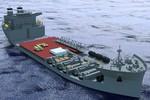 Siêu tàu vận tải đổ bộ khổng lồ 90.000 tấn của Mỹ