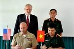 Việt – Mỹ hợp tác huấn luyện rà phá bom mìn, cấp cứu người bị nạn