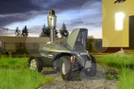 Robot tuần tra tự động Tral Patrul 3.1 do công ty Nga chế tạo