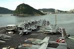 Triều Tiên: Tàu sân bay George Washington đến Busan là thù địch