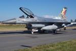 F-16 của Không quân Hà Lan bắn nhầm cả vào tháp điều khiển