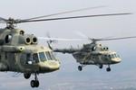 Mỹ đã từ chối mua 15 máy bay trực thăng Mi-17 của Nga