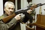Cha đẻ súng trường AK Mikhail Kalashnikov đang nguy kịch