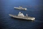 """Ấn Độ khoe 2 biên đội tàu sân bay """"oách"""" hơn Liêu Ninh của Trung Quốc"""