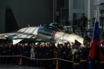 Cận cảnh chiếc Su-35S mới nhất của Không quân Nga