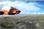 Cảnh tượng tiêm kích F-16 Đan Mạch phát động tấn không đối đất