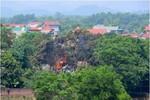 Máy bay rơi ở Hòa Lạc ngoại thành Hà Nội, 16 chiến sĩ hy sinh