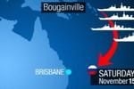 Australia lo ngại đoàn chiếm hạm Nga vừa xuất hiện ở Biển Đông
