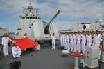 Nhật Bản đã có phản ứng chính thức với việc TQ tập trận quy mô lớn