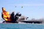 Tàu sân bay Mỹ lộ điểm yếu, bị đánh chìm khi tập trận với Pháp