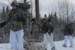 Lính Mỹ huấn luyện ở Alaska giá lạnh