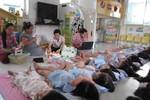 500 giờ dạy không lương, giáo viên mầm non chịu nhiều thiệt thòi