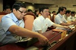 Hà Nội chuẩn bị lấy phiếu tín nhiệm 18 chức danh