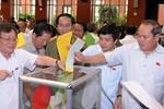 Tạm dừng lấy phiếu tín nhiệm tại kỳ họp thứ 7 Quốc hội khóa 13