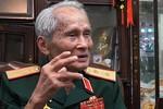 """Trung tướng Nguyễn Quốc Thước: """"Không thể mắc mưu Trung Quốc"""""""