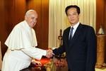Giáo hoàng Francis bày tỏ quan ngại về tình hình Biển Đông