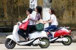 Miễn lệ phí trước bạ xe máy điện đến hết 30/6/2015