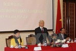 Tổng Bí thư gặp đại diện Hội Hữu nghị đối ngoại nhân dân Trung Quốc